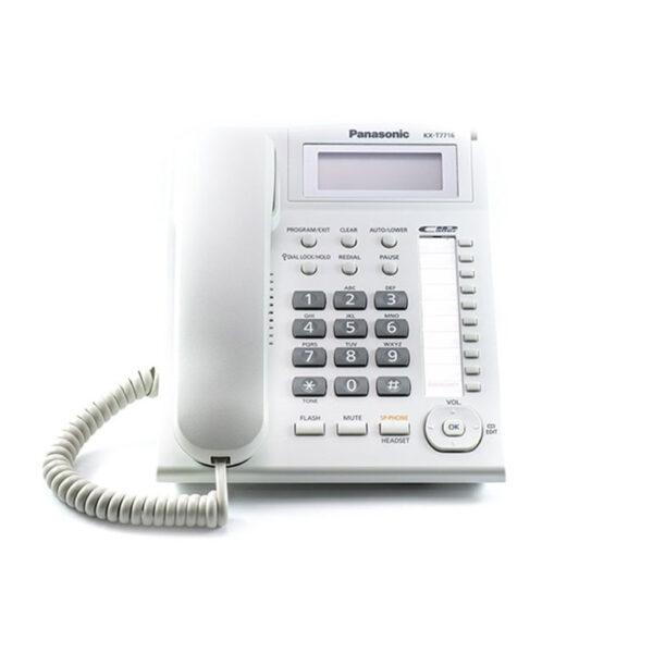 تلفن رومیزی پاناسونیک مدل KX-T7716
