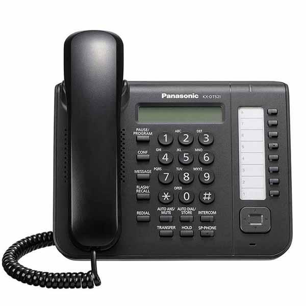 تلفن دیجیتال پاناسونیک مدل Panasonic KX-DT521