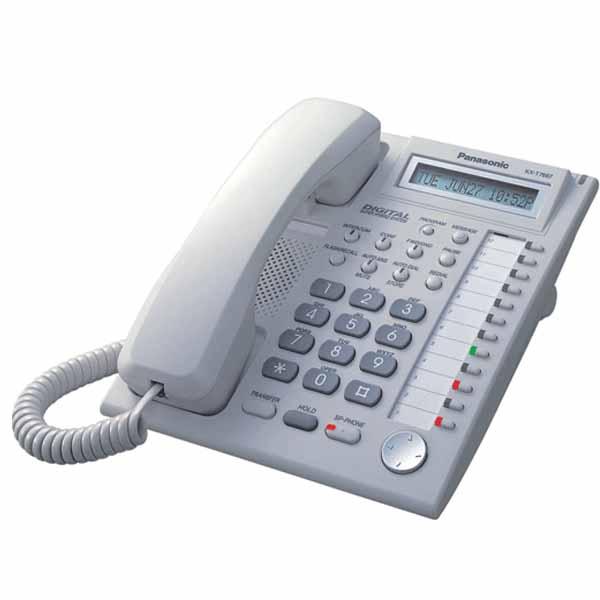 تلفن سانترال – تلفن اختصاصی دیجیتال مدل Panasonic KX-T7667