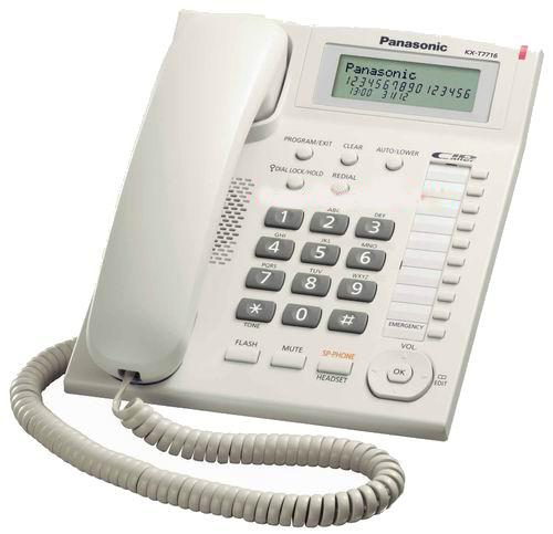 گوشی رومیزی پاناسونیک Panasonic KX-TS7716
