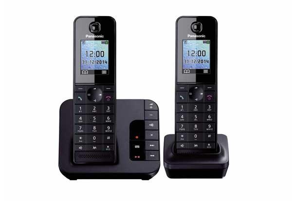 گوشی تلفن بی سیم پاناسونیک مدل KX-TGH222