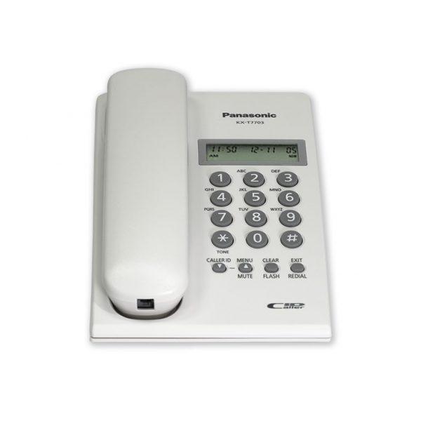 تلفن رومیزی پاناسونیک مدل KX-T7703